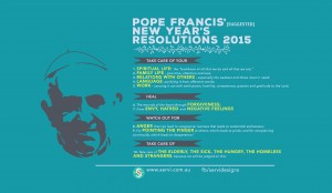 Pope Francis Resolutions 2015-01